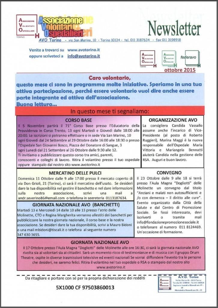 Newsletter 10-2015