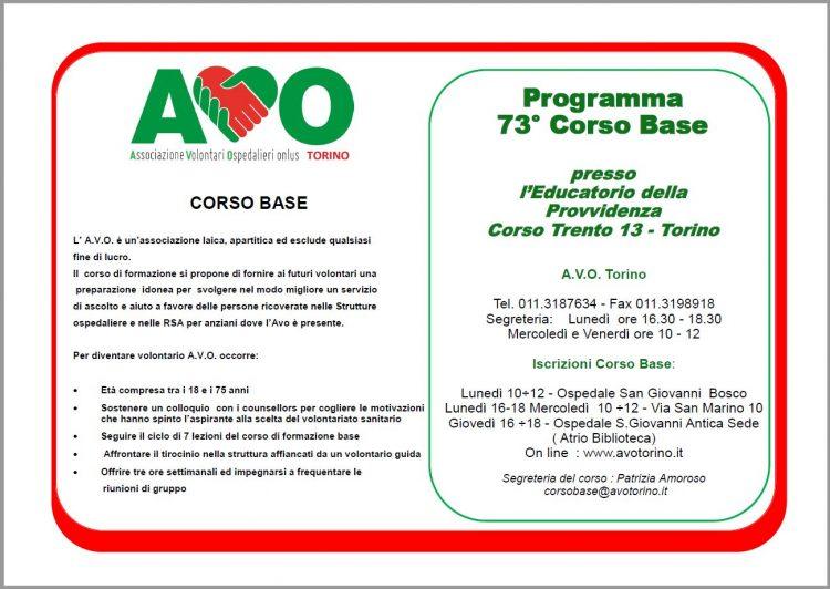 Programma Corso 73 - 1- new