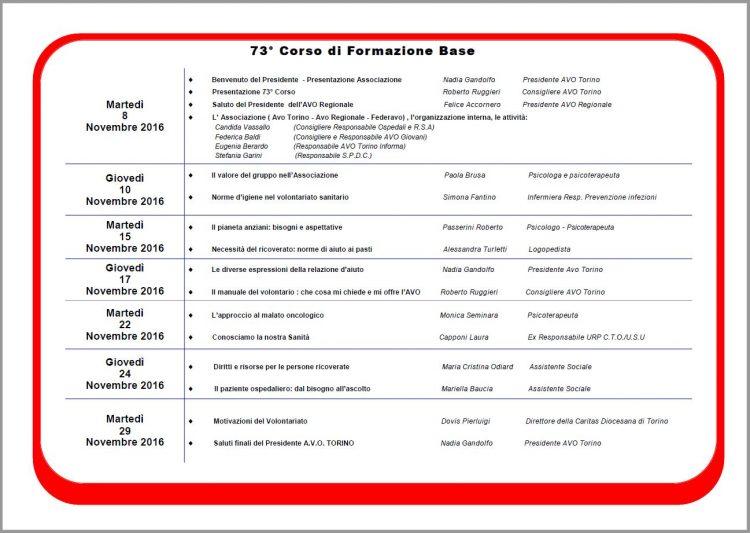 Programma Corso 73 - 2- new