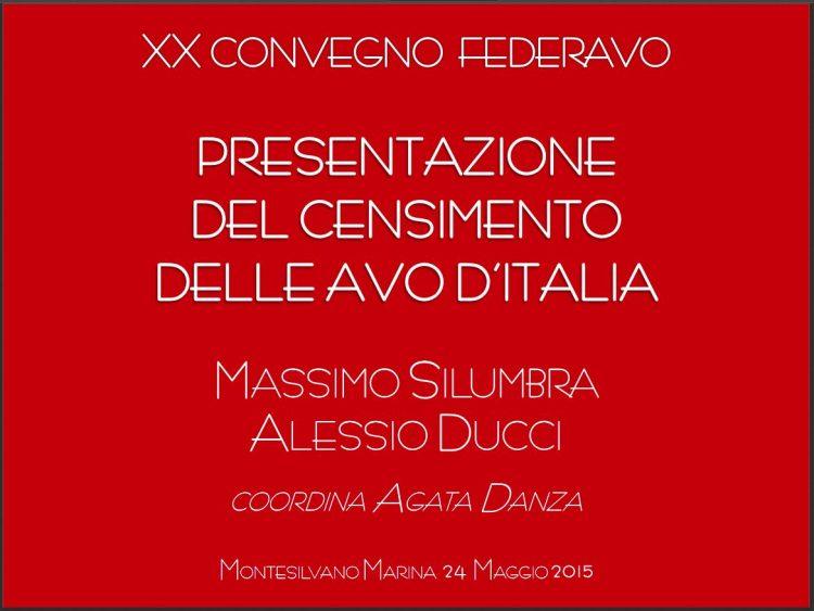 Censimento delle AVO d'Italia