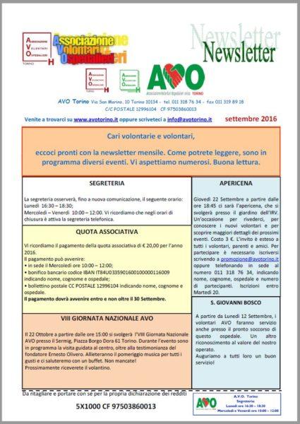 Newsletter 09-2016