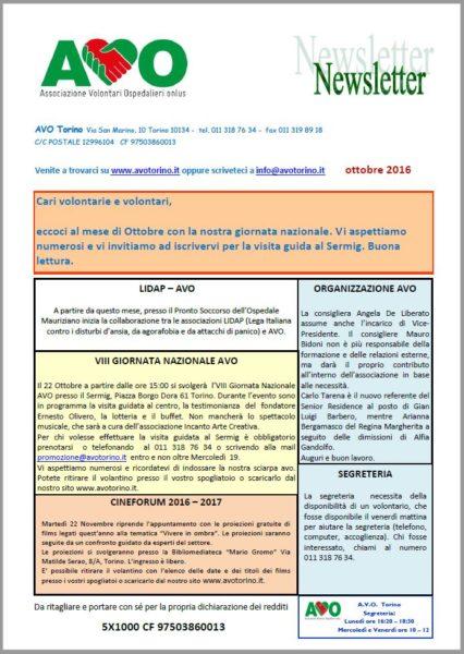 Newsletter 10-2016